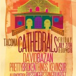 music // Cathedrals : David Bazan + Pretty Broken Things + Passenger String Quartet